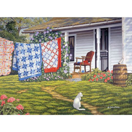 Summer Place 300 Large Piece Jigsaw Puzzle