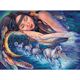 Path Of A Dream Catcher 500 Piece Jigsaw Puzzle