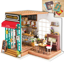 Incredible Simon's Coffee Shop Model Kit