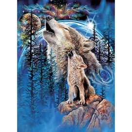 Wolves Harmony 1000 Piece Jigsaw Puzzle