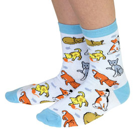 Kitten Novelty Socks