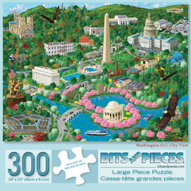 Washington D.C 300 Large Piece Jigsaw Puzzle