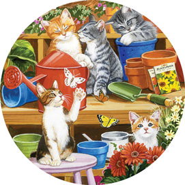Garden Shed Kittens 500 Piece Jigsaw Puzzle