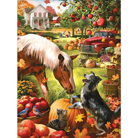 Autumn Farm 500 Piece Jigsaw Puzzle