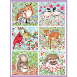 Forest Love Quilt 500 Piece Jigsaw Puzzle