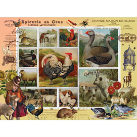 Farm Life 300 Large Piece Jigsaw Puzzle