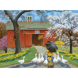 Follow The Leader 300 Large Piece Jigsaw Puzzle