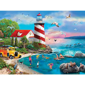 Tidepool Investigation 300 Large Piece Jigsaw Puzzle