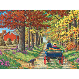 Shady Lane 500 Piece Jigsaw Puzzle