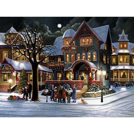 Set of 2:  Hargrove Christmas Joy 500 Piece Jigsaw Puzzles