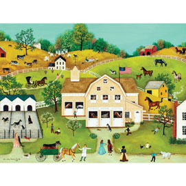 Dr. Nick's Animal Hospital 500 Piece Jigsaw Puzzle