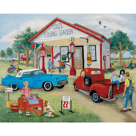Friendly Folk 4-in-1 Multi-Pack 300 Large Piece Puzzle Set