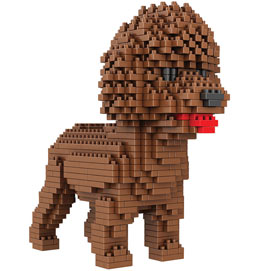 Dog Breed 3-D BlockPuzzle- Poodle