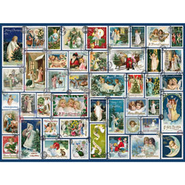 Angel Stamps Quilt 1000 Piece Jigsaw Puzzle