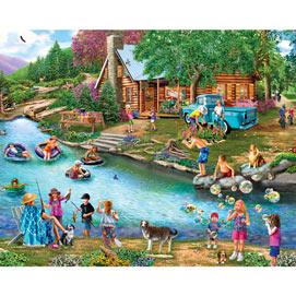 River Escapades 4-in-1 Multi-Pack 500 Piece Puzzle Set
