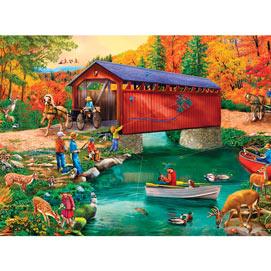 River Escapades 4-in-1 Multi-Pack 1000 Piece Puzzle Set