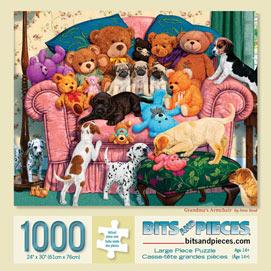 Grandma's Armchair 1000 Piece Jigsaw Puzzle