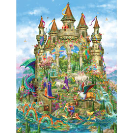 Fantasy Castle 300 Large Piece Shaped Jigsaw Puzzle