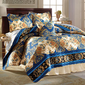 Persian Nights Quilt Set and Accessories