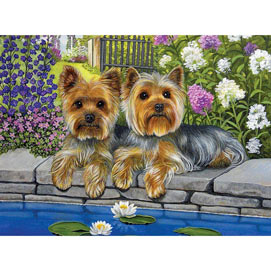 Springtime Cuties 300 Large Piece Jigsaw Puzzle