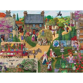 The Town Vendor 300 Large Piece Jigsaw Puzzle