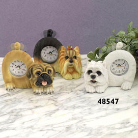 Tail Wagging Westie Clock