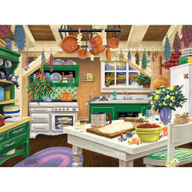 Cottage Kitchen 500 Piece Jigsaw puzzle