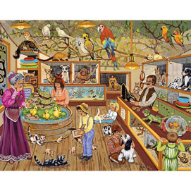 Pet Emporium 100 Large Piece Jigsaw Puzzle