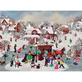 Winter Village 1000 Piece Jigsaw Puzzle