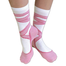 Ballerina Novelty Sock
