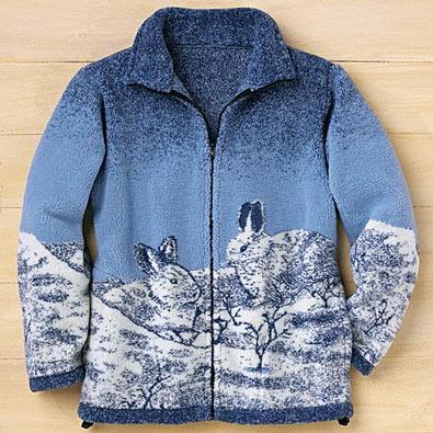 Snow Bunnies Wildlife Inspired Jacket