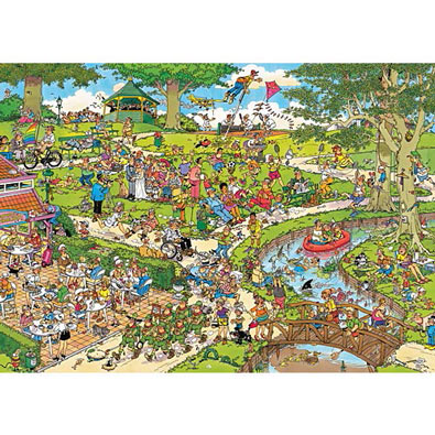 At The Park 1000 Piece Jigsaw Puzzle