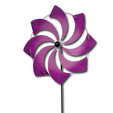 Purple Pinwheel Stakes