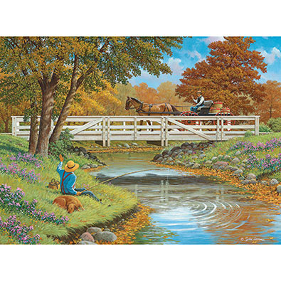 Howdy Neighbor 300 Large Piece Jigsaw Puzzle