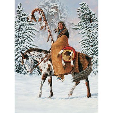 Red Cloud 1000 Piece Jigsaw Puzzle