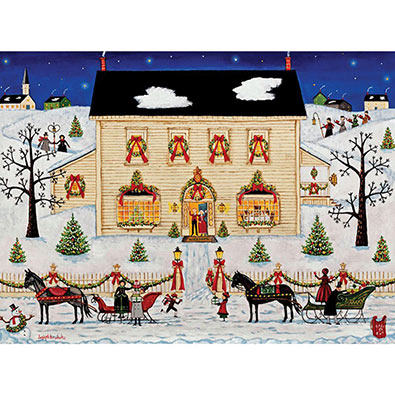 Holiday House 1000 Piece Jigsaw Puzzle
