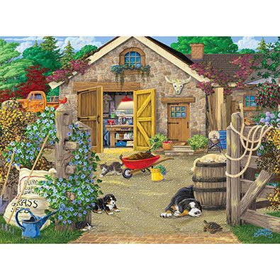 Welcome To The Neighborhood 300 Large Piece Jigsaw Puzzle