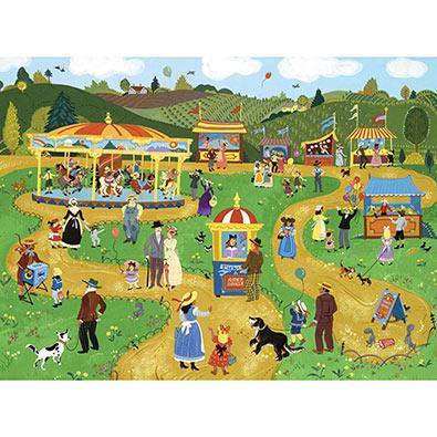 Carnival Fun 500 Piece Jigsaw Puzzle