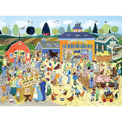 Country Fair 500 Piece Jigsaw Puzzle
