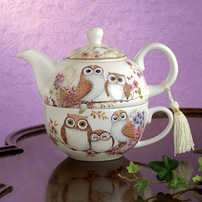 Tea For One- Owls
