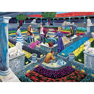 Murder At The Museum 1000 Piece Jigsaw Puzzle
