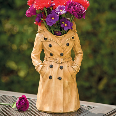 Raincoat Vase