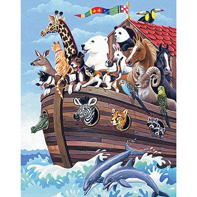 Noah's Ark 100 Large Piece Jigsaw Puzzle