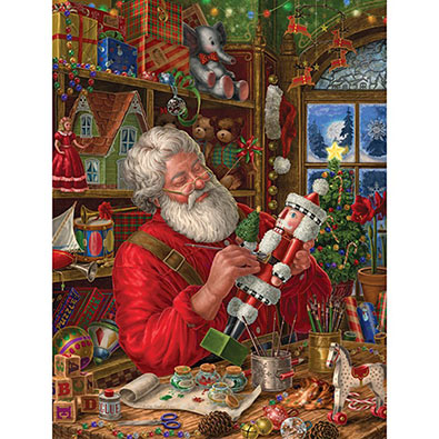 Workshop Santa 500 Piece Jigsaw Puzzle