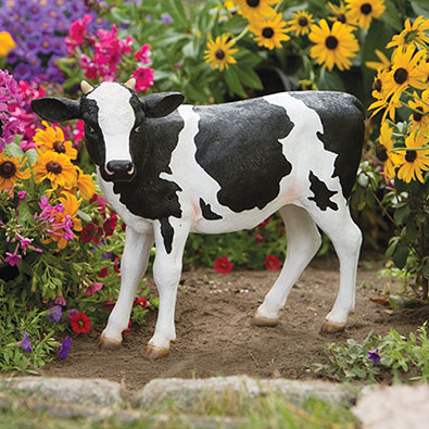 Calf Motion Sensor Garden Sculpture
