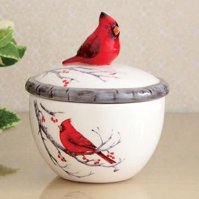 Cardinal Trinket Box