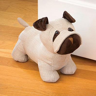 Weighted Pug Doorstop