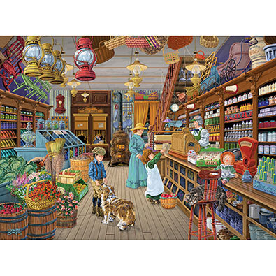 Uncle Steve's General Store 500 Piece Jigsaw Puzzle