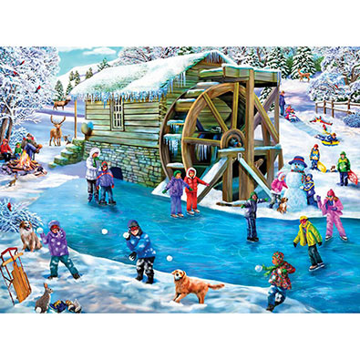 Frozen Fun 1000 Piece Jigsaw Puzzle