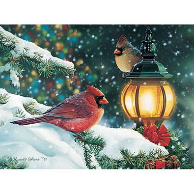 Yuletide Greetings 1000 Piece Jigsaw Puzzle